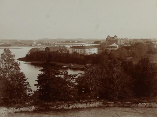 Svante Lagergrénin ottama kuva Hämeenlinnasta