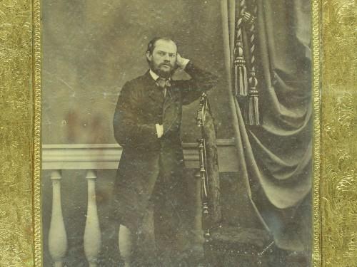 Fritz Hirn ateljeessaan